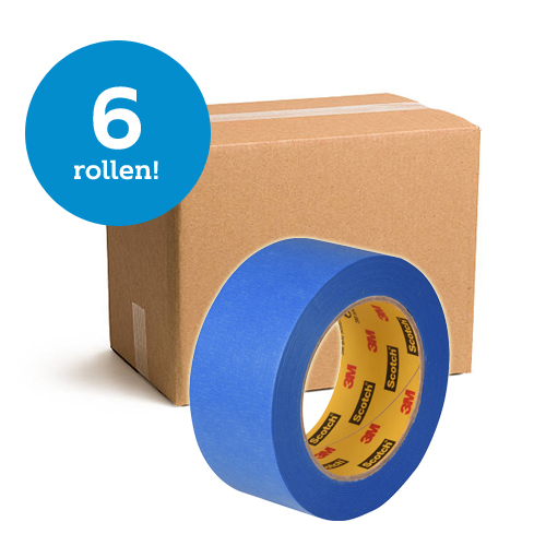 Scotch afplaktape 2090 - 6 rollen